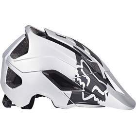 Fox Metah Thresh Helmet Men Silver/Black